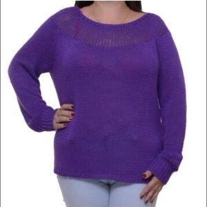 2/$30🌼 LAUREN Ralph Lauren Purple Sweater